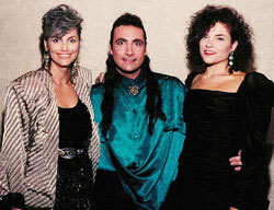 Emmylou, Rique and Rosanne Cash