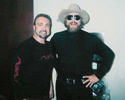 Rique and Hank Williams Jr.