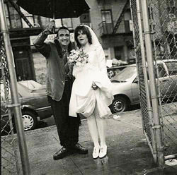 Rique and Rosanne Cash Wedding Day Little Italy New York